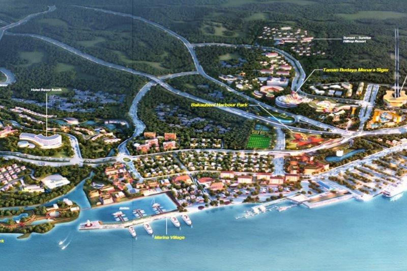 Proyek Bakauheni Harbour City tahap 1 dimulai tahun ini