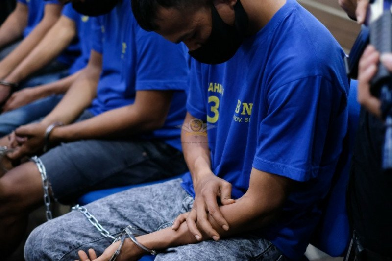 BNN Sumut tangkap empat orang jaringan narkotika Aceh-Solo
