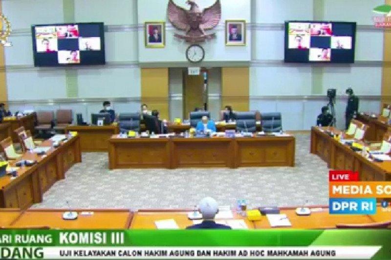 Komisi III DPR mulai uji kelayakan calon hakim agung