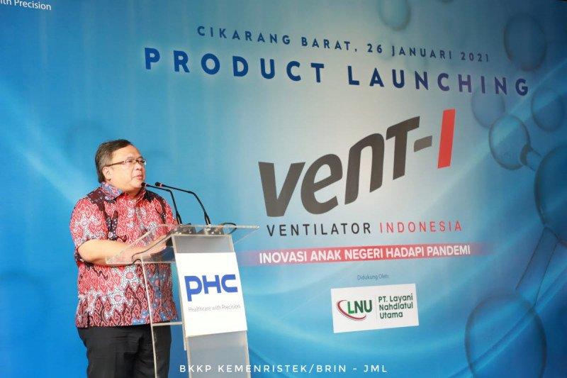 Produk ventilator karya anak bangsa dapat sertifikat internasional