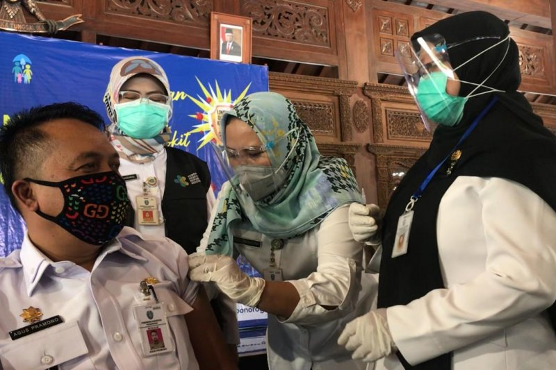 Pemkab Ponorogo target vaksinasi tuntas dalam 4 hari