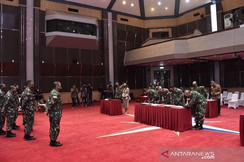TNI teken kontrak pengadaan barang dan jasa