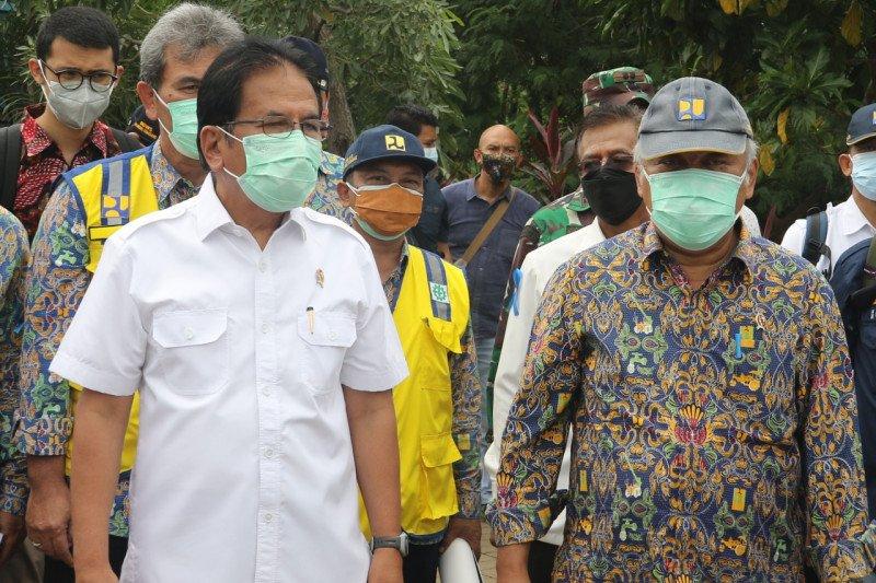 Ke Bekasi, Menteri ATR cek pelanggaran pemanfaatan ruang