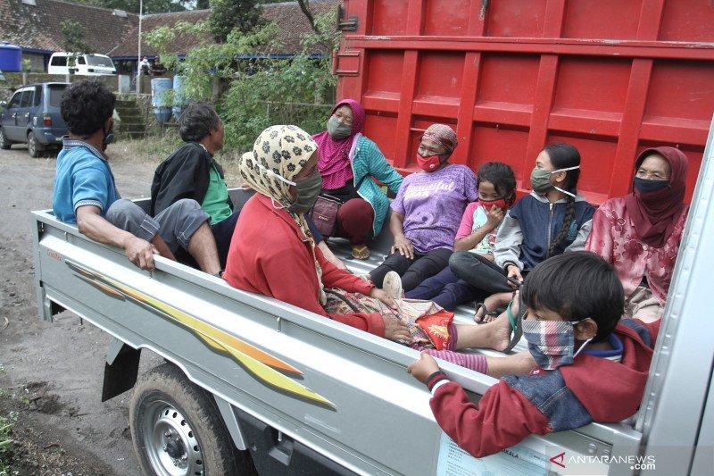 Warga lereng Merapi sudah siap jika terjadi banjir lahar, sebut BPBD