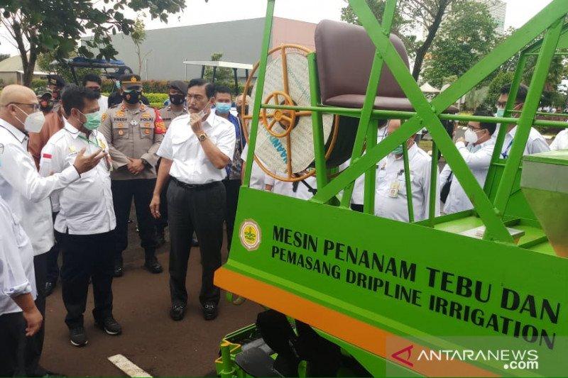 Menko Marinves dukung pengembangan industri alsintan dalam negeri