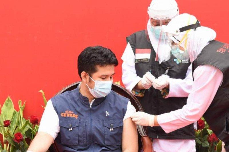 Wagub Jatim: Saya lebih tenang jalani vaksinasi kedua
