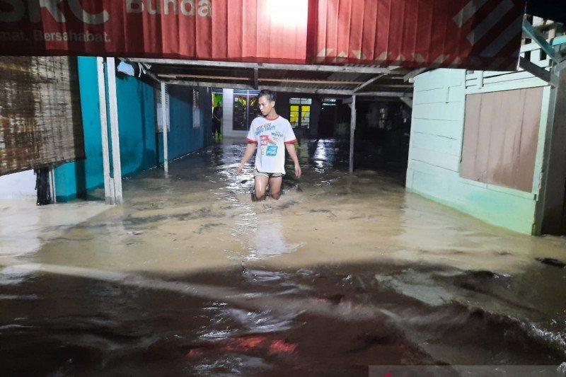 Banjir bandang di Langsa, rusakkan tujuh rumah warga