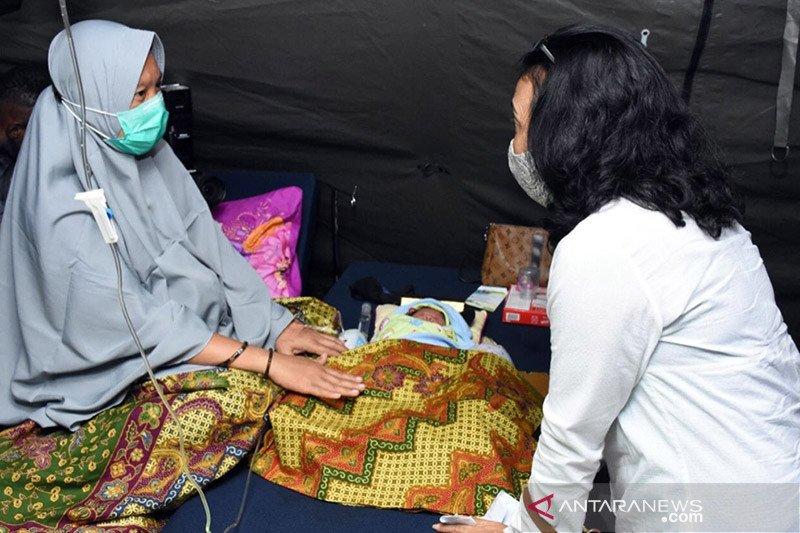 Menteri PPPA pastikan pemenuhan hak pengungsi perempuan-anak di Mamuju