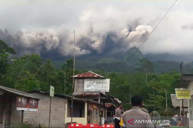 BPPTKG: Volume kubah lava Gunung Merapi menurun signifikan