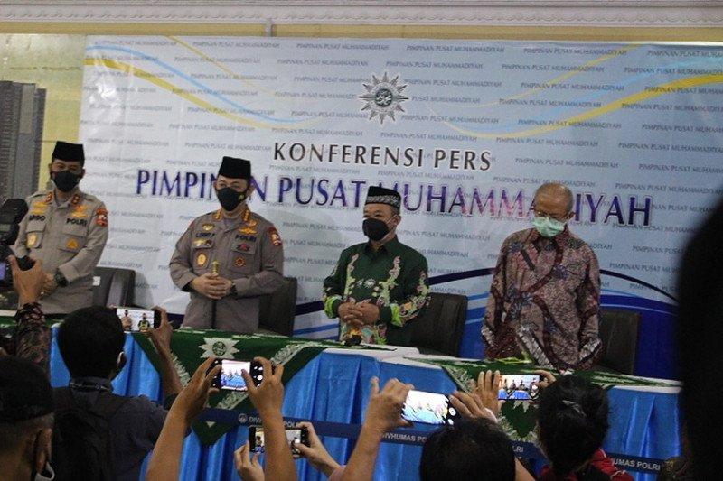 Kapolri ingin bersinergi dengan Muhammadiyah