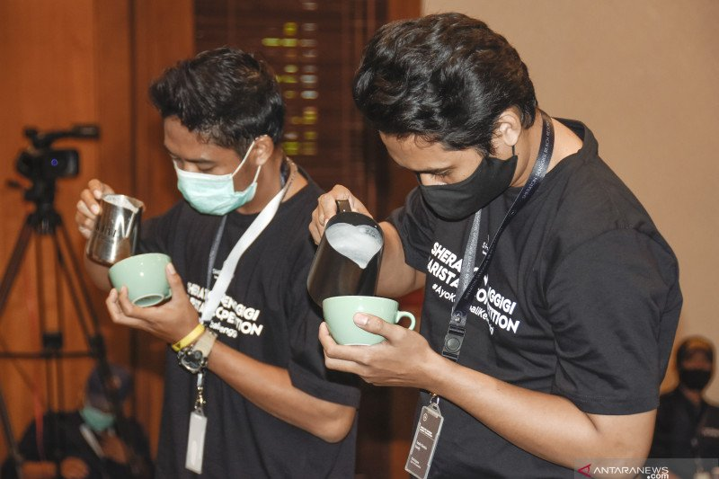 Kompetisi barista di Lombok