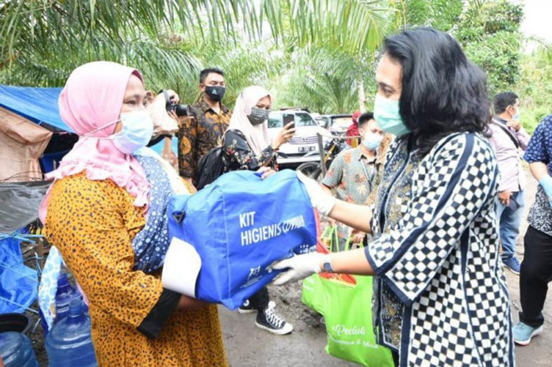 Menteri PPPA pastikan hak perempuan-anak Majene korban gempa terpenuhi