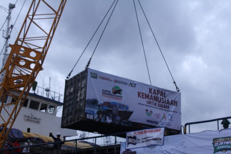 ACT NTB ikhtiar kirim 1000 ton bantuan ke Sulbar dan Kalsel