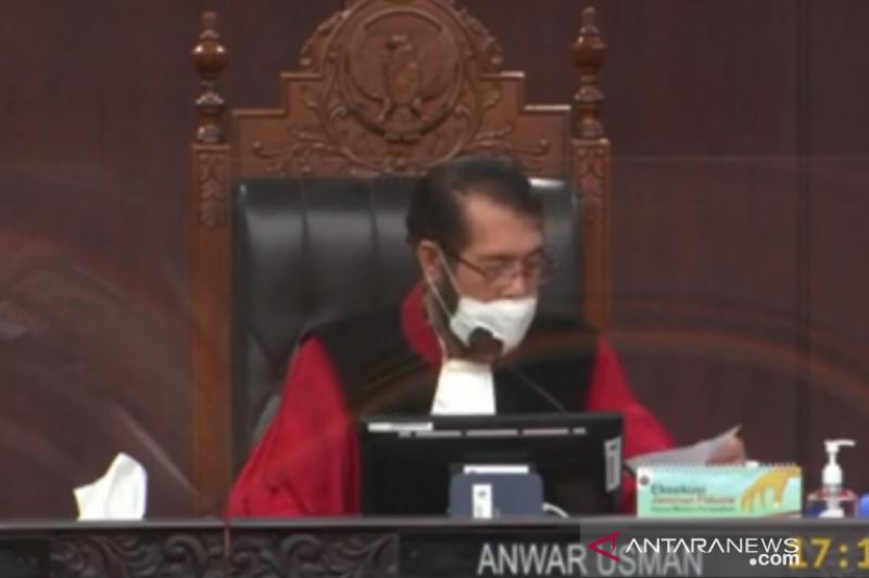 MK kabulkan penarikan perkara sengketa Pilkada Bandar Lampung