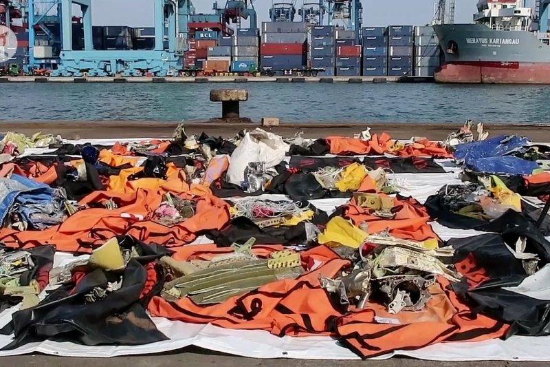 Tim DVI Polri identifikasi 7 korban Sriwijaya Air