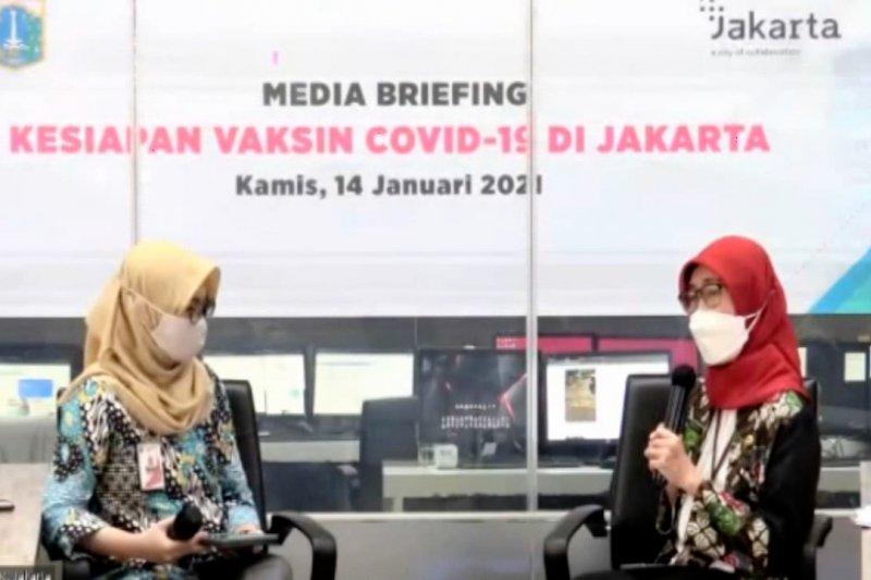 Nakes di Jakarta bebas pilih tempat divaksinasi