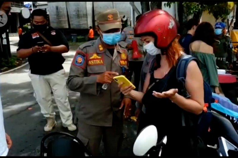 Sepekan PPKM di Bali, 90 persen pelanggar adalah WNA