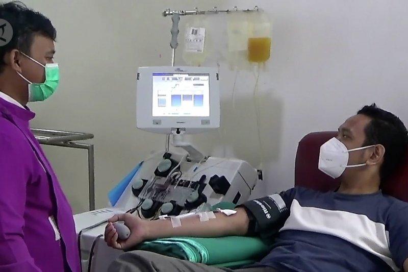 Harapan sembuh dari COVID-19 dengan terapi plasma konvalesen