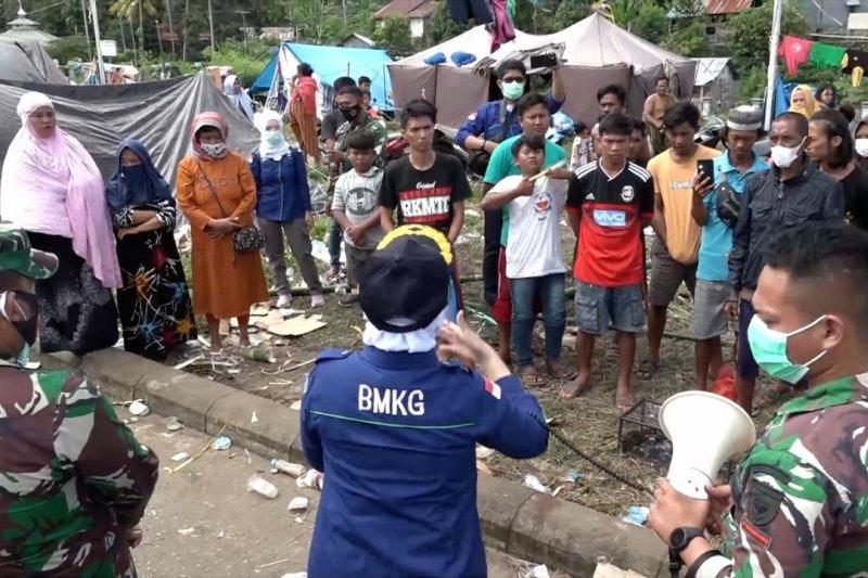 Kepala BMKG imbau pengungsi Mamuju jangan percaya hoax