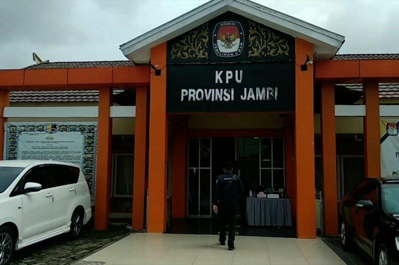 KPU Jambi siapkan alat bukti dan saksi untuk gugatan dua paslon