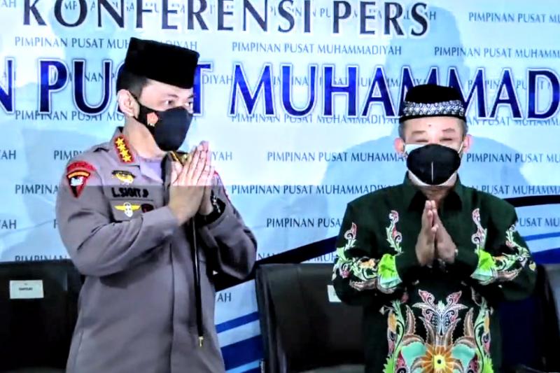 Kunjungi Muhammadiyah, Kapolri nyatakan ingin bersinergi