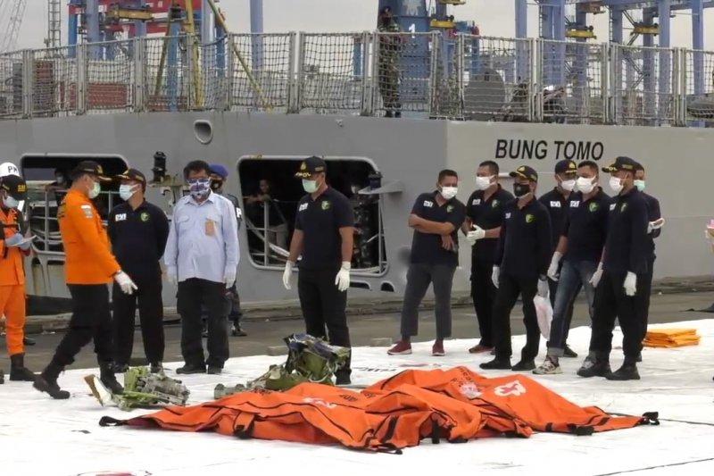 Tim DVI komitmen tuntaskan proses identifikasi korban Sriwijaya Air