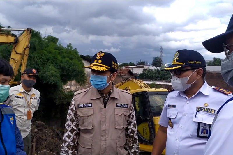 Wagub Jatim dorong percepatan perbaikan Tol Surabaya-Gempol