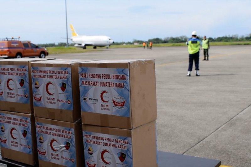 Bantuan rendang masyarakat Minang untuk korban gempa Mamuju