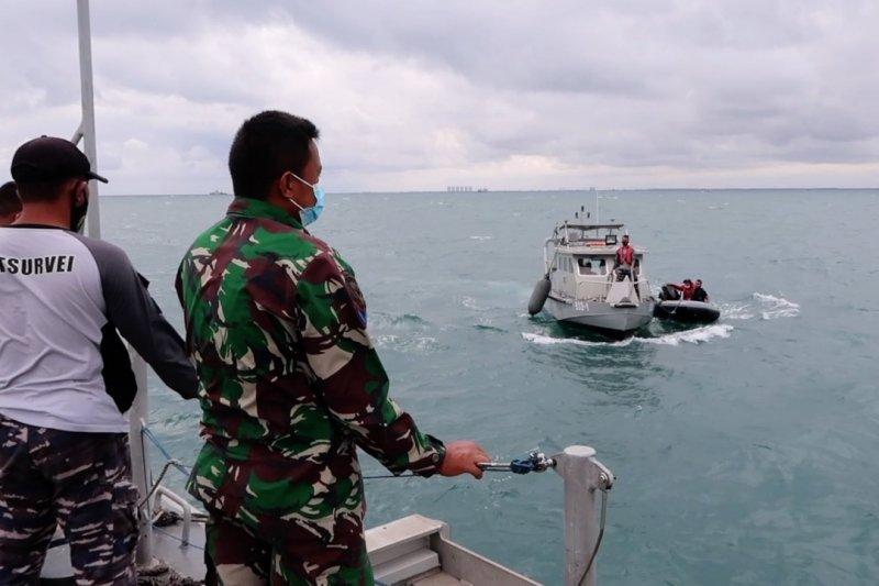 TNI AL turunkan robot cari CVR Sriwijaya Air SJ-182