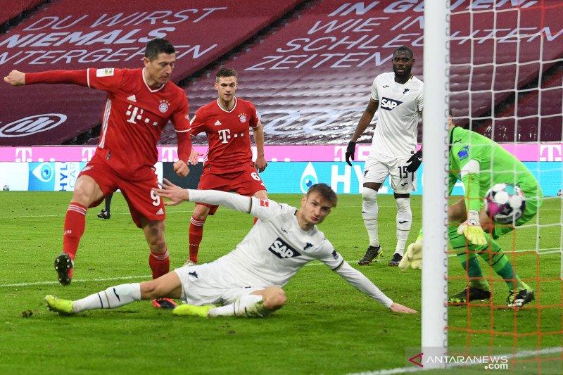 Klasemen Liga Jerman: Bayern jaga keunggulan tujuh poin atas Leipzig