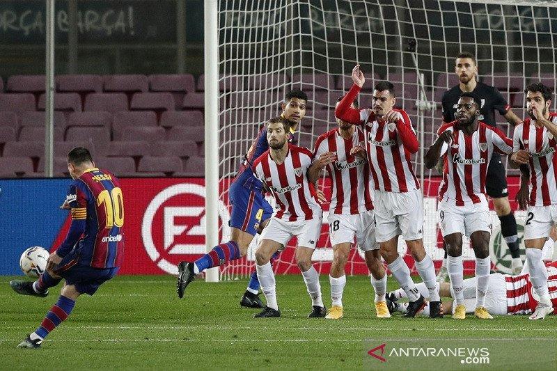 Messi dan Griezmann tuntaskan revans Barcelona atas Bilbao