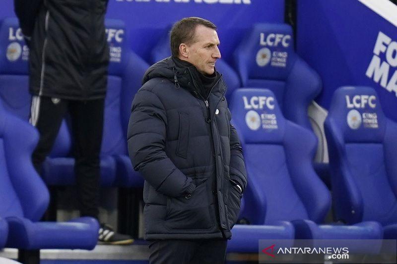 Dikaitkan dengan Spurs, Brendan Rodgers tegaskan bertahan di Leicester