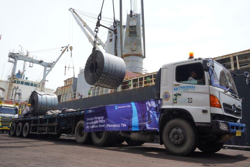 Dongkrak penjualan, Krakatau Steel teken kerja sama Rp4,8 triliun