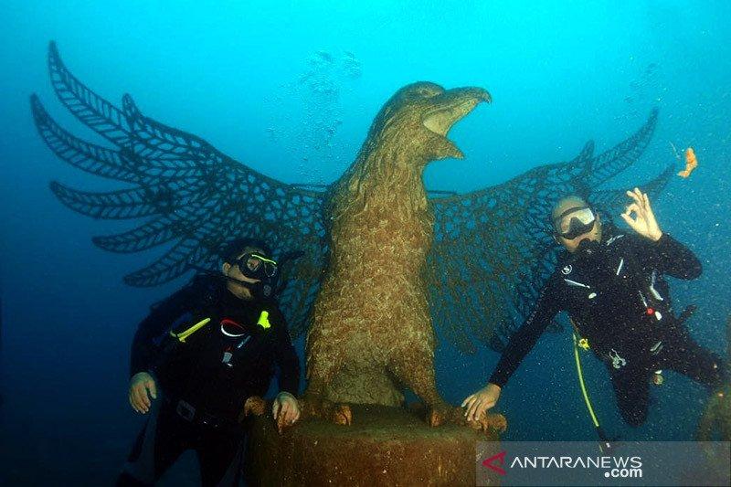 Kebun karang raksasa di Bali jadi spot wisata selam