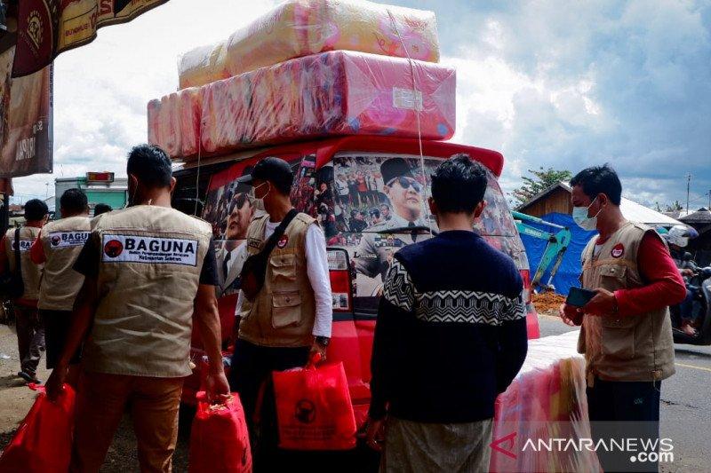 Baguna Kalsel salurkan bantuan korban banjir sasar ponpes