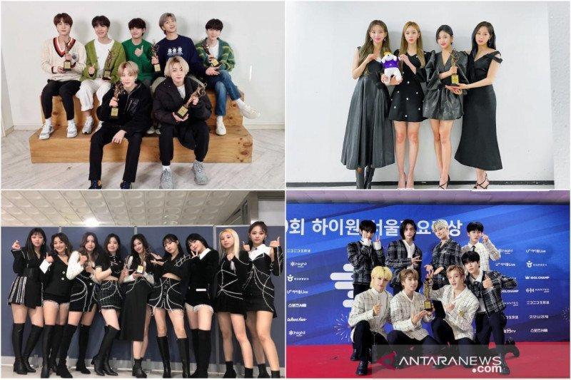 BTS hingga aespa raih piala di Seoul Music Awards 2021