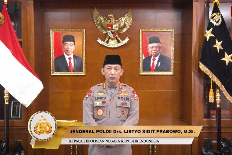 Kapolri Jenderal Listyo Sigit ucapkan selamat Harlah Ke-95 NU