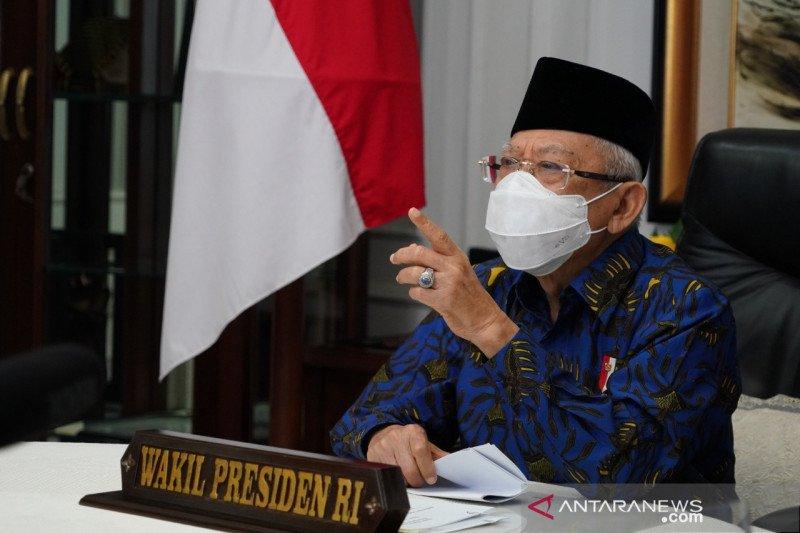 Wapres: Pasar Muamalah tidak sesuai prinsip ekonomi syariah di RI