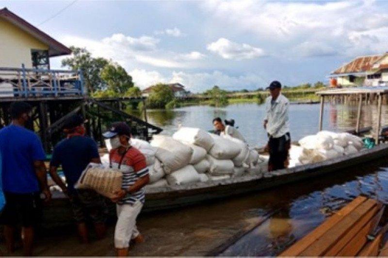 Dukung ketahanan pangan, Pertani pasok benih padi hingga ke perbatasan