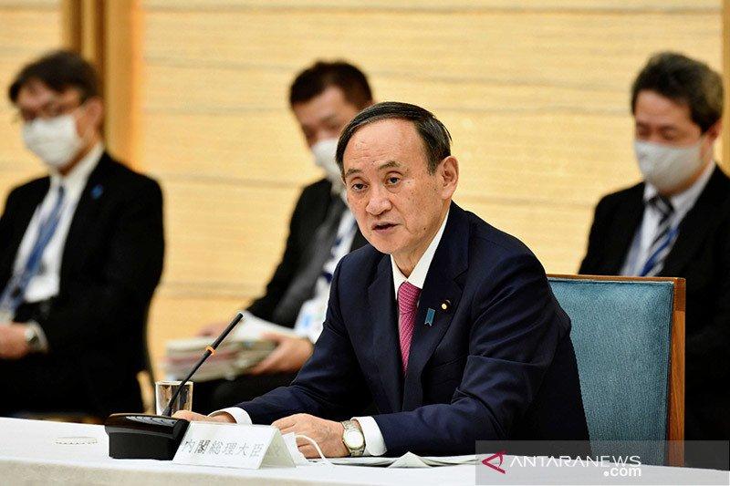 Suga: Jepang akan bicara HAM, tekankan relasi konstruktif dengan China