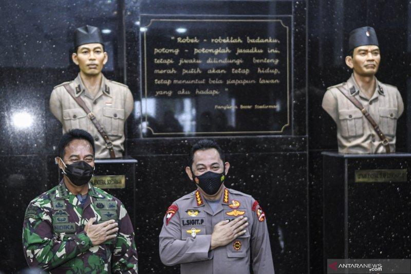 Kapolri bertemu KSAD bahas sinergi TNI-Polri