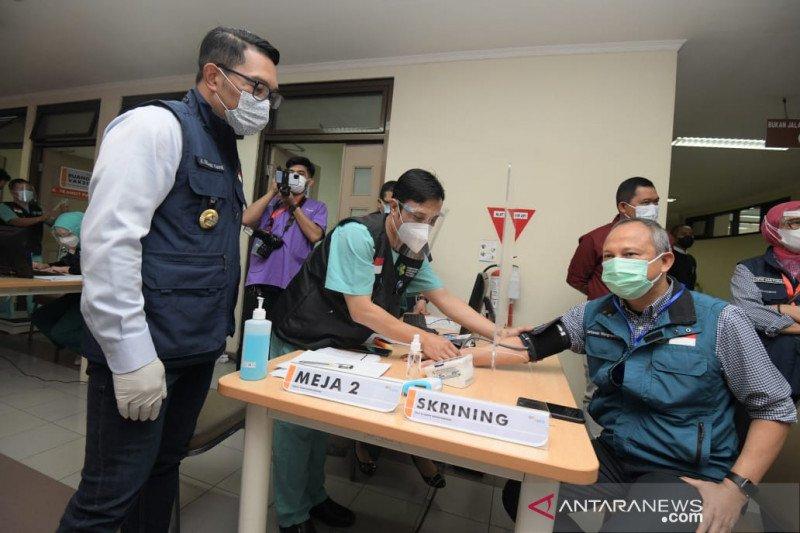 DKI Jakarta dan Jabar jadi daerah pertama jalankan vaksinasi tahap dua