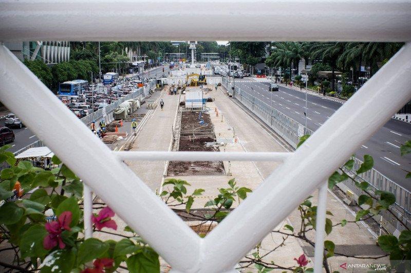 MRT siapkan rekayasa lalin terkait pembangunan Stasiun Thamrin