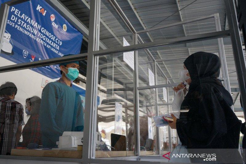 Tingkatkan layanan, KAI Yogyakarta tambah tes GeNose di Lempuyangan