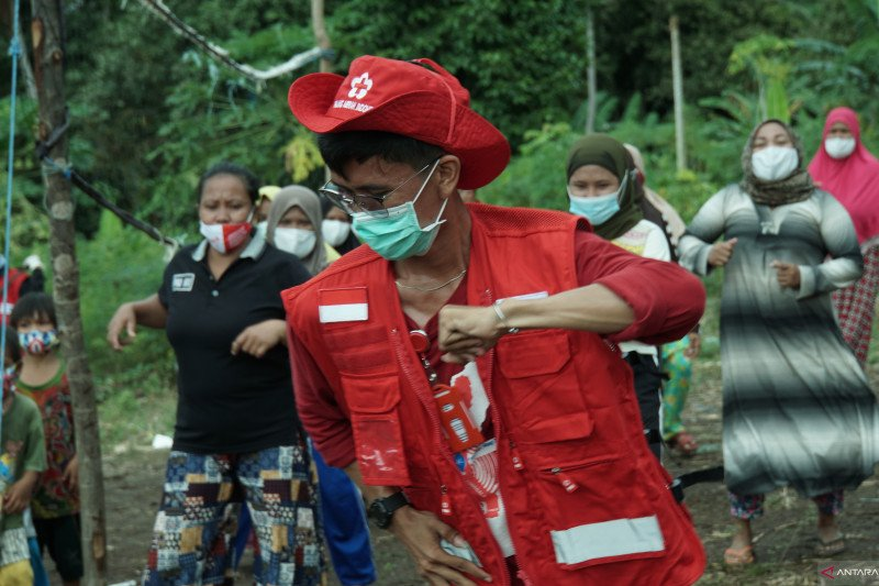 PMI kembalikan semangat anak dan ibu penyintas gempa Sulbar di Mamuju