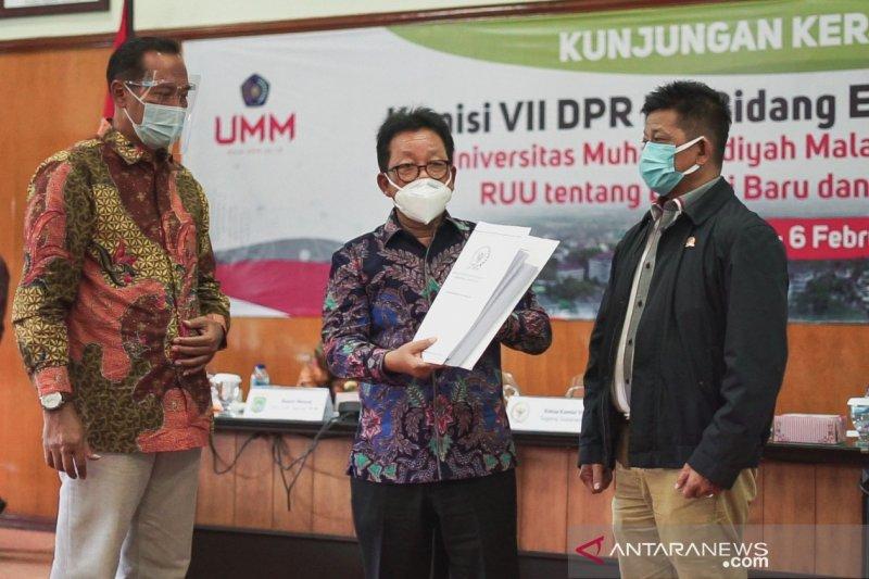 UMM-Komisi VII DPRI RI kaji RUU Energi Baru Terbarukan