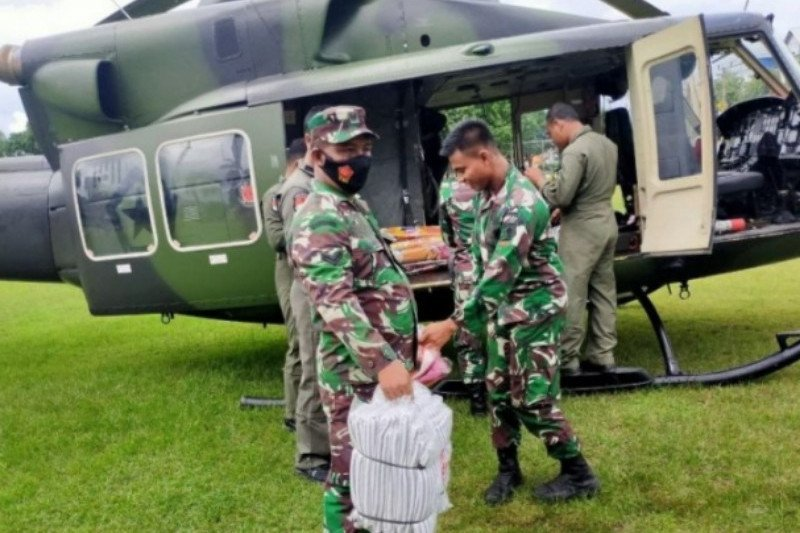 TNI AD terus distribusikan bantuan gempa ke pelosok