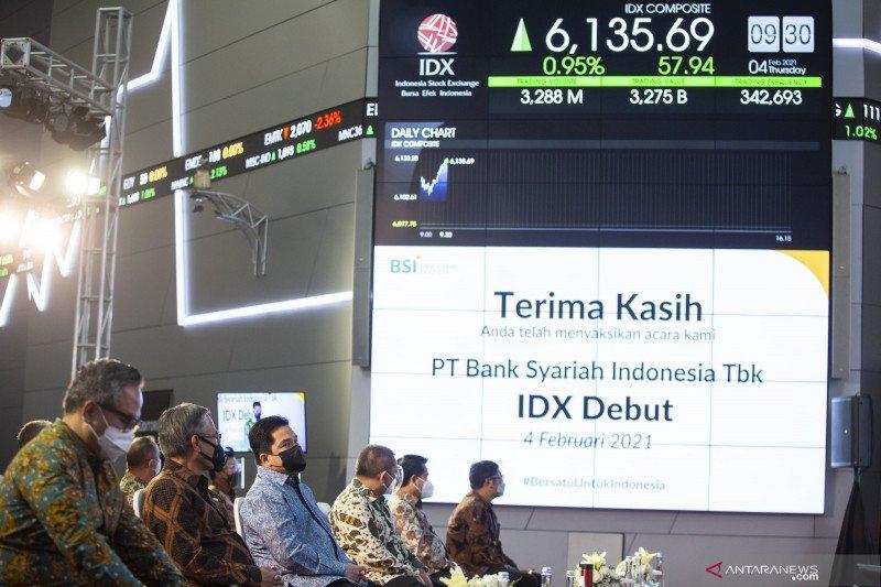 Debut Bank Syariah Indonesia di pasar modal