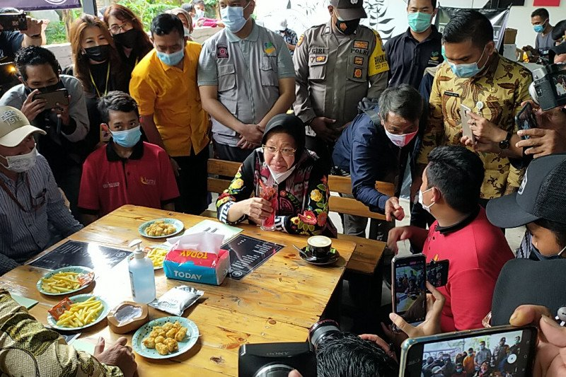 Mensos berdayakan anak jalanan kelola kafe