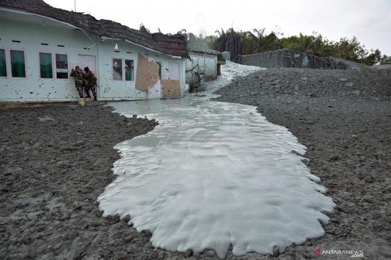 Semburan gas di Kota Pekanbaru